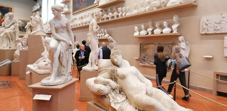 Tour of the Uffizi Academy in Florence