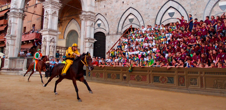 The famous Palio in Siena