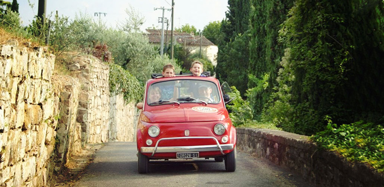 The legendary Fiat 500 Tour on Florence and Chianti Hills-Caftours