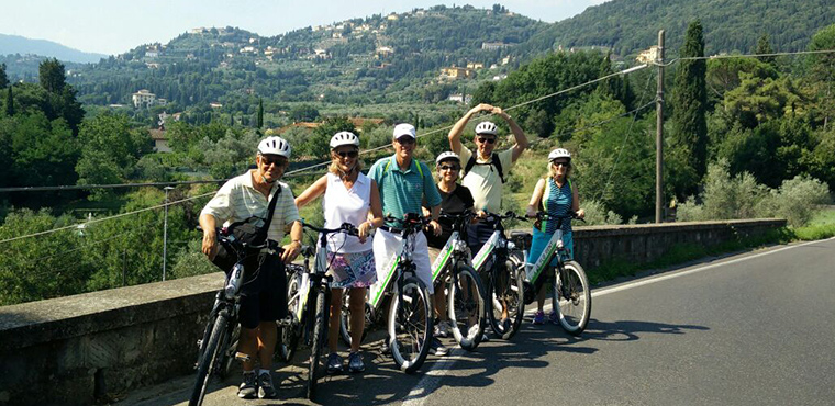 Electric Bike Tour of Florence and its Hills with typical tastings