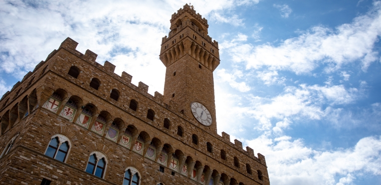 Palazzo Vecchio Museum in Florence