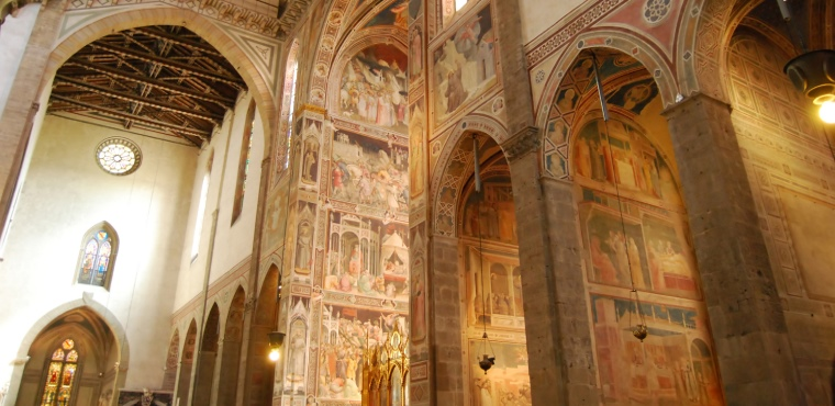 Private Guided Visit Florence's Santa Croce Basilica &  Ancient Leather School